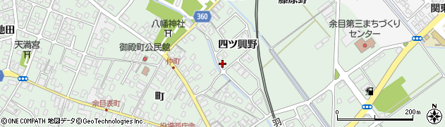山形県東田川郡庄内町余目四ツ興野107周辺の地図