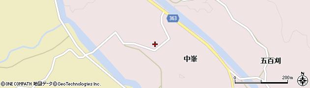 山形県酒田市山元中峯50周辺の地図