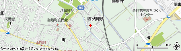 山形県東田川郡庄内町余目四ツ興野108周辺の地図