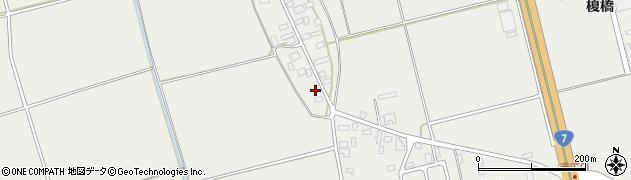 山形県酒田市広野上中村103周辺の地図