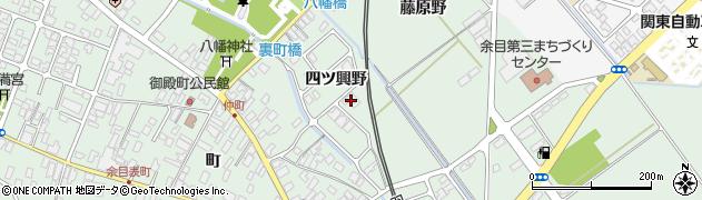 山形県東田川郡庄内町余目四ツ興野130周辺の地図