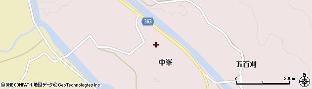 山形県酒田市山元中峯40周辺の地図