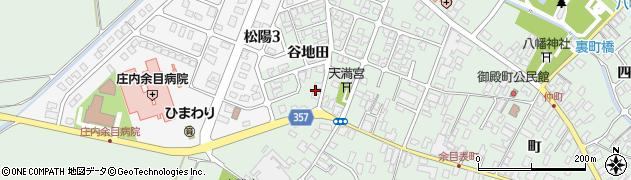 山形県東田川郡庄内町余目谷地田20周辺の地図
