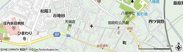 山形県東田川郡庄内町余目町203周辺の地図