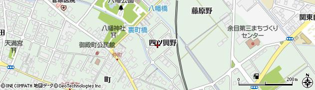 山形県東田川郡庄内町余目四ツ興野102周辺の地図