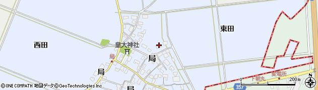 山形県酒田市局局34周辺の地図