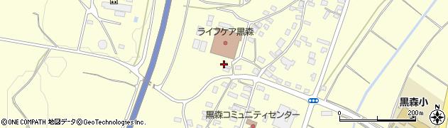 山形県酒田市黒森葭葉山789周辺の地図