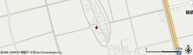 山形県酒田市広野上中村106周辺の地図