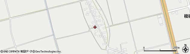 山形県酒田市広野上中村109周辺の地図