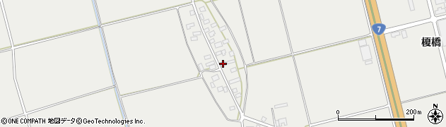 山形県酒田市広野上中村77周辺の地図