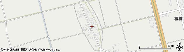 山形県酒田市広野上中村74周辺の地図