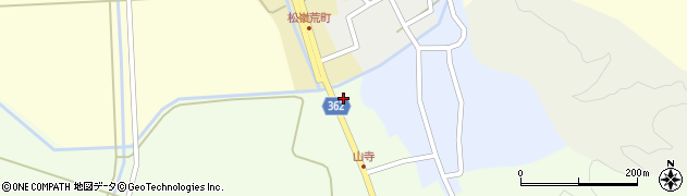 山形県酒田市山寺宅地258周辺の地図