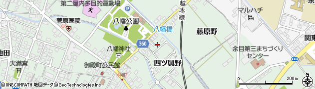 山形県東田川郡庄内町余目四ツ興野28周辺の地図