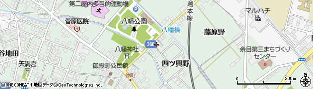 山形県東田川郡庄内町余目四ツ興野33周辺の地図