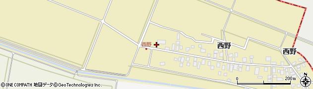 山形県東田川郡庄内町西野西野129周辺の地図