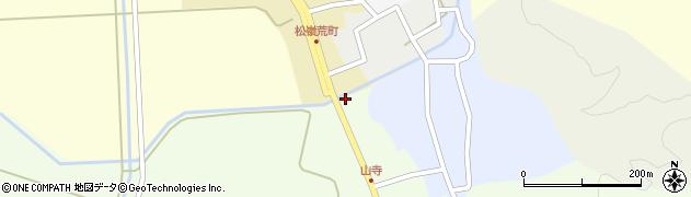 山形県酒田市山寺宅地259周辺の地図