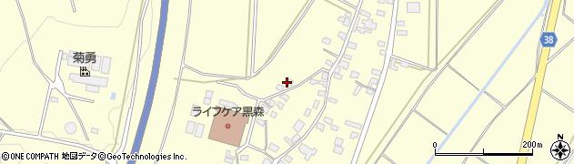 山形県酒田市黒森葭葉山828周辺の地図