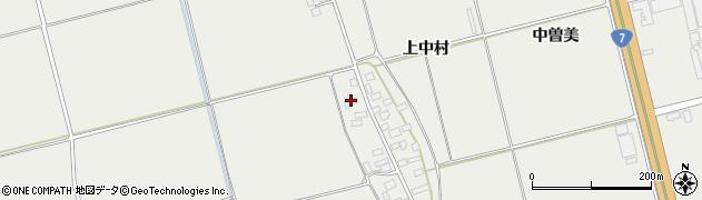 山形県酒田市広野上中村124周辺の地図