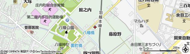 山形県東田川郡庄内町余目藤原野58周辺の地図