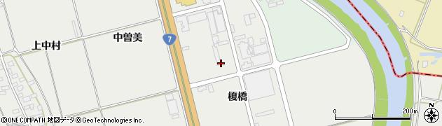 山形県酒田市広野榎橋36周辺の地図