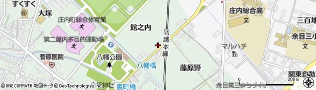 山形県東田川郡庄内町余目館之内59周辺の地図
