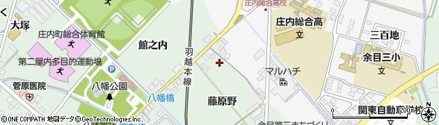 山形県東田川郡庄内町余目藤原野17周辺の地図