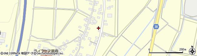 山形県酒田市黒森谷地中55周辺の地図