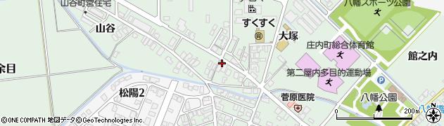 山形県東田川郡庄内町余目大塚83周辺の地図