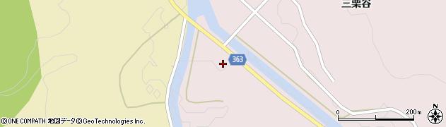 山形県酒田市山元滝沢周辺の地図