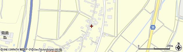 山形県酒田市黒森谷地中59周辺の地図