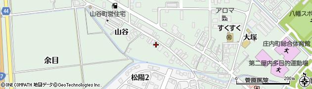 山形県東田川郡庄内町余目山谷46周辺の地図