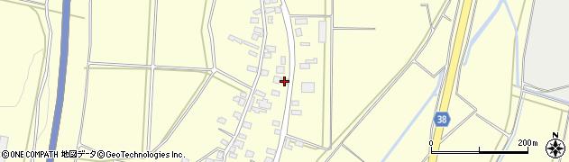 山形県酒田市黒森谷地中64周辺の地図