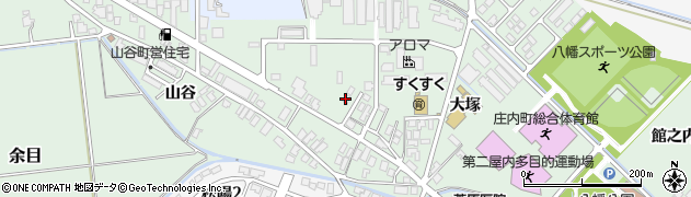 山形県東田川郡庄内町余目大塚53周辺の地図