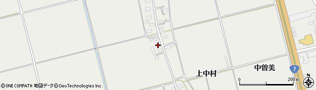 山形県酒田市広野上中村142周辺の地図