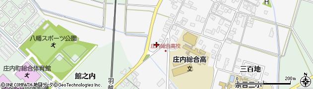 山形県東田川郡庄内町廿六木深田周辺の地図