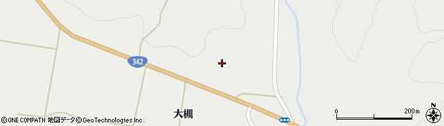 岩手県一関市花泉町金沢新田周辺の地図