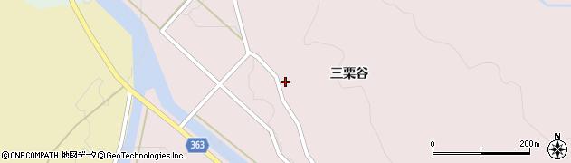 山形県酒田市山元三栗谷31周辺の地図