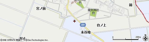 山形県酒田市門田宮ノ前21周辺の地図