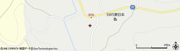 岩手県一関市藤沢町藤沢(赤畑)周辺の地図