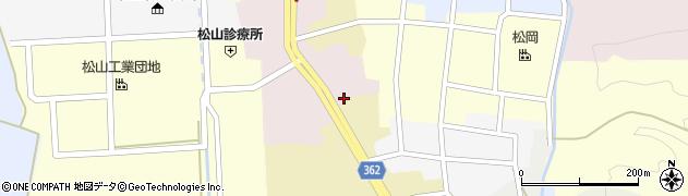 山形県酒田市本町2周辺の地図