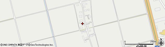 山形県酒田市広野上中村196周辺の地図