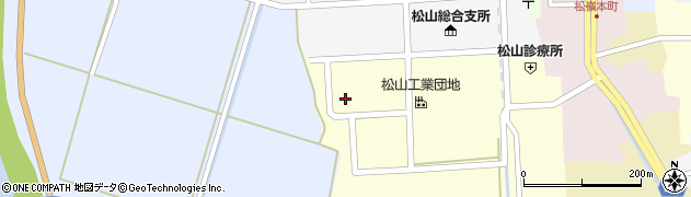 山形県酒田市西田16周辺の地図