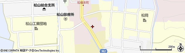 山形県酒田市本町9周辺の地図