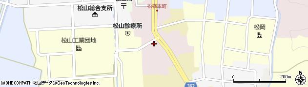 山形県酒田市本町48周辺の地図