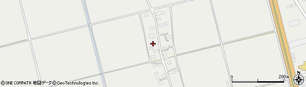 山形県酒田市広野上中村195周辺の地図