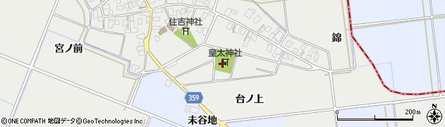 山形県酒田市門田台ノ上120周辺の地図