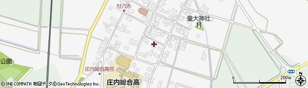 山形県東田川郡庄内町廿六木三ツ車23周辺の地図