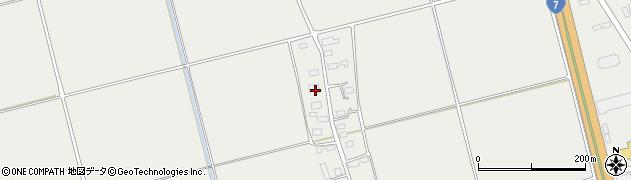 山形県酒田市広野上中村194周辺の地図