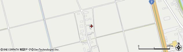 山形県酒田市広野上中村190周辺の地図