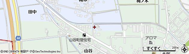山形県東田川郡庄内町跡梅木17周辺の地図